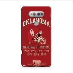 Oklahoma Sooners Championship Banner LG V20 3D Case