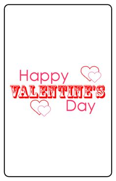 "OL800 - 2.5"" x 1.563"" -Free  Happy Valentine's Day Chocolate Mini Candy Favor Labels"