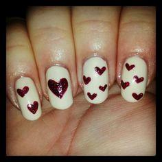 Valentine's Nail Art featuring Zoya Jacqueline and Blaze!