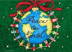 """~Let there be Peace on Earth~ Luke 2:14 NLT """"Glory to God in highest heaven, and peace on earth to those with whom God is pleased."""""""
