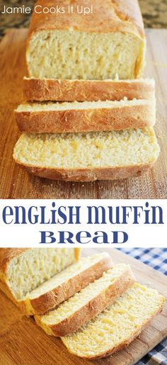 English Muffin Bread from Jamie Cooks It Up! #easybreadrecipes #homemadebread #jamiecooksitup