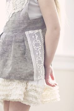 lace and tulle and linen