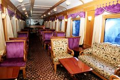 Explore India through famous luxury trains and basically the tourist destination trains designed to fulfill the luxury entailing the top destination movement in India.