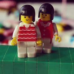 Manage to find some vintage minifigures #legophotography #legostagram #Lego #vintage by drethelegend