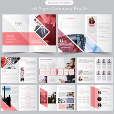 More than 3 millions free vectors, PSD, photos and free icons. Exclusive freebies and all graphic resources that you need for your projects Graphic Design Brochure, Corporate Brochure Design, Company Brochure, Creative Brochure, Business Brochure, Page Layout Design, Magazine Layout Design, Web Design, Magazine Layouts