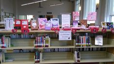 2018 Blind Date with a Book Display at the Mebane Library.