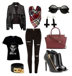 Here for the band by jbanna on Polyvore featuring polyvore, fashion, style, HIDE, River Island, Tom Ford, MICHAEL Michael Kors, Valentino and Chicnova Fashion