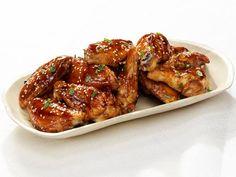 Get Teriyaki Chicken Wings Recipe from Food Network