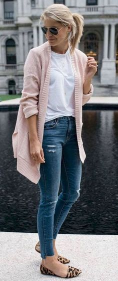 41b0ffa149  Fall Women Wear  Trending Charming Fall Women Wear Pink Shoes Outfit
