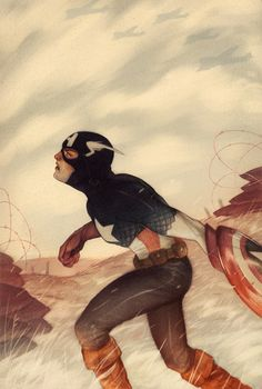 Captain America, by Sam Wolfe Connelly