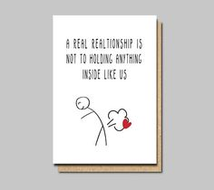 card for boyfriend Funny love card Funny Anniversary Card Funny Valentines Card Card for husband Wedding Anniversary 1st Anniversary Cards, Anniversary Cards For Boyfriend, Anniversary Funny, Wedding Anniversary, Boyfriend Birthday Card, Bday Cards, Funny Birthday Cards, Birthday Greetings, Humor Birthday