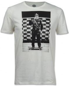 Element Jake Darwen Herren T-Shirt weiß