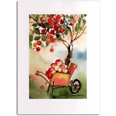 Omenapuun alla by Minna L. Immonen