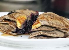 Bloo pancakes
