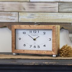 18 best desktop clock images in 2019 picture clock woodworking rh pinterest com