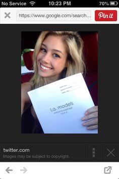 Yay! #CarlyTway #LAModels #CarlyTwayModel