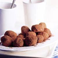 Recept - Chocoladetruffels - Allerhande