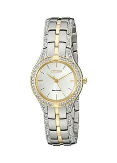 Citizen EcoDrive Womens FE206452A Silhouette Crystal Watch -- You can get additional details at the image link. (Note:Amazon affiliate link)
