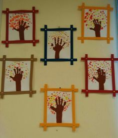 48 Awesome Fall Crafts for Kids – Crafts Ideas Fall Crafts For Toddlers, Fall Crafts For Kids, Thanksgiving Crafts, Holiday Crafts, Art For Kids, Thanksgiving Feast, Fall Leaves Crafts, Autumn Art Ideas For Kids, Summer Crafts