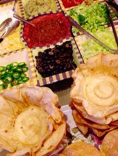Create your own Taco Salad Bar