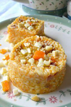 Risotto salsiccia e zucca: una delizia per gli occhi e per il palato. #ricetta #idea #autunno