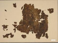 Falconer in a Silk Fagment, Iran, Rayy?, Seljuq period, 11th-13th century