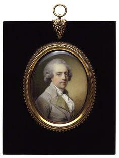 richard lovell edgeworth | ...  Miniature Portrait of younger Richard Lovell Edgeworth