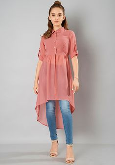 Valentine's Day Clothing 2020 - Girls Fashion Dresses Sale, Offers, Discounts On. Muslim Fashion, Fashion Wear, Look Fashion, Fashion Dresses, Fashion Tips, Kurta Designs Women, Blouse Designs, Stylish Dresses For Girls, Casual Dresses