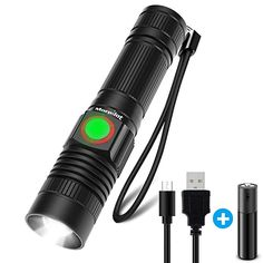 Yunmai Portable Mini XPE LED Torch Outdoor Hunting Camping Lamp 20000LM BR
