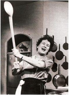 Julia Child being herself