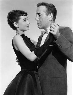 Audrey Hepburn, Humphrey Bogart - Sabrina (Billy Wilder, 1954)