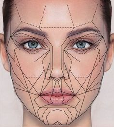 "The Golden Ratio of Beauty: ""There's a ""golden ratio"" for faces. Faces were considered most attractive when the features were set apart according to certain ratios. Ideally, you want the distance between your eyes and mouth to be about 36 percent of the length of your face. And, ideally, the distance between your eyes should be 46 percent of your face's width..."" (Adrianna Lima)"