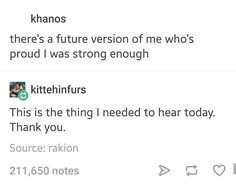 You got this, guys. Your future self is proud of you for being strong, and so am I>>>self control is just empathy towards your future self Pretty Words, Beautiful Words, Personalidad Infj, Quotes To Live By, Me Quotes, Just In Case, Just For You, A Silent Voice, My Tumblr