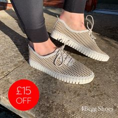 Casual leather shoes now with £15 off - Get them here 👉 www.beggshoes.com/creator-skal-IB18559-66 🔹 Sizes: 37 - 40 🔹 Price: £60.00 🔹 Other colours available online. #leathershoes #casualshoes #shoesoftheday Casual Leather Shoes, Casual Shoes, Bags 2014, Shoe Shop, White Leather, Taupe, Adidas Sneakers, Colours, Shoe Bag