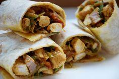 Il pranzo da portare in ufficio: wrap con pollo al curry | bigodino.it