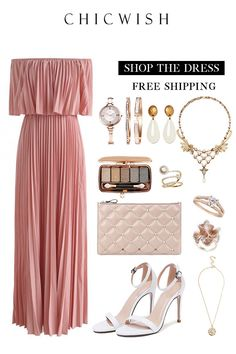 Best Ways To Style Your Outfits - Fashion Trends Classy Outfits, Stylish Outfits, Elegant Dresses, Beautiful Dresses, Dress Outfits, Fashion Dresses, Pleated Maxi, Church Outfits, Mannequins
