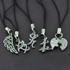 I would love to own these… ~ The Mortal Instruments Necklaces