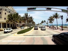 First person point-of-view of Fort Lauderdale Beach including Bahia Mar!