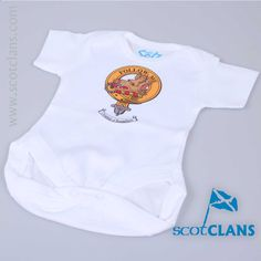 Campbell Clan Crest Baby Bodysuit. Free Worldwide Shipping Available