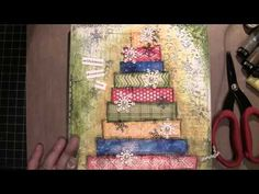 Part2 - Mixed Media Canvas with Madison Paper and Faber-Castell (2 of 2)