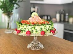 Glutenfri smörgåstårta Finger Foods, Salad Recipes, Serving Bowls, Tart, Sandwiches, Appetizers, Gluten Free, Entertaining, Tableware