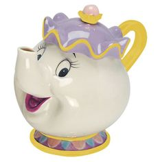 Beauty and The Beast Mrs. Potts Sculpted Ceramic Teapot - Vandor - Beauty and the Beast - Kitchenware at Entertainment Earth