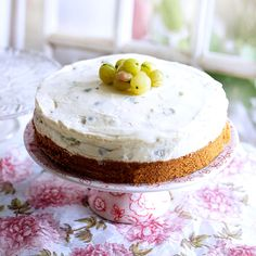 Sumptuous Gooseberry Cheesecake Recipe