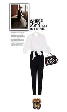 """How Great"" by anneorganized ❤ liked on Polyvore featuring Gucci, Alexander McQueen, Johanna Ortiz and Mulberry"