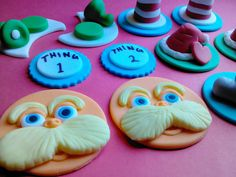 Inspired by Dr Seuss  Pick Your Pieces by ThreeMonkeysCakery, $21.00