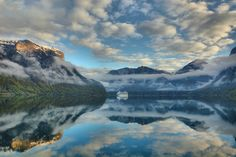 Spectacular arrival in Aurland for MS Azura Art Prints For Sale, Fine Art Prints, Cruise Ships, Norway, Ms, Travel Photography, Europe, In This Moment, Landscape