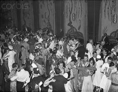 20 Jan 1933, Manhattan, New York, New York, USA --- At Beaux Arts Ball. A view of the dancing on the ballroom floor during the Gala Beaux Arts Ball at the Waldorf-Astoria Hotel, New York.