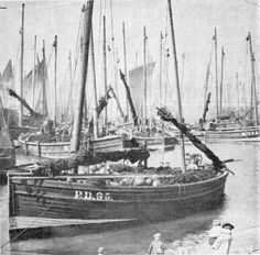 """The 1st boat of the Zulu design, """"The Nonesuch"""", was built at Lossiemouth in 1879."""