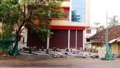 3 .5 cent Land & 4200 SQF Commercial Building ,Cheroor,Thrissur