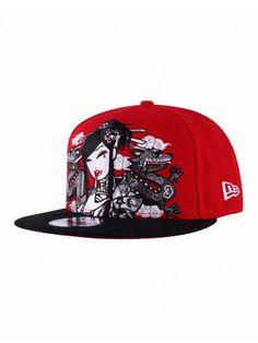 Camo Geisha Snapback Caps Game c5d94a46460